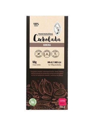 Obrazek Franciszkańska Czekolada Gorzka 100% kakao