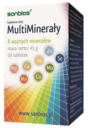 Obrazek Sanbios | MultiMinerały - 8 minerałów
