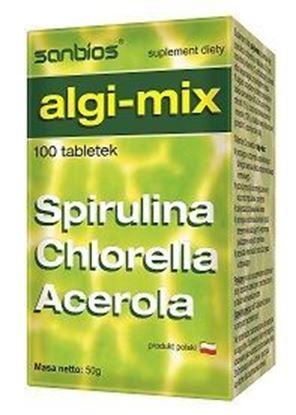 Obrazek Sanbios | ALGI-MIX Spirulina, Chlorella, Acerola