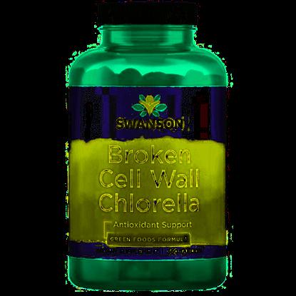Obrazek Swanson   Broken Cell Wall Chlorella 360 tabs.