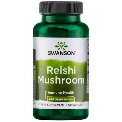 Obrazek Swanson | Reishi Mushroom 60 kaps.
