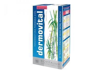 Obrazek Biovitalium | DERMOVITAL - Zdrowe włosy, skóra i paznokcie