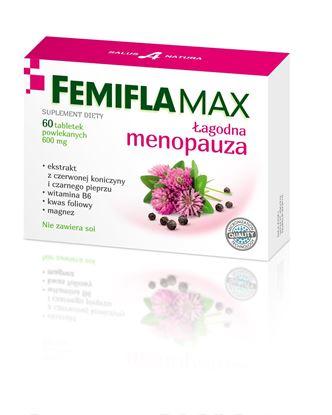 Obrazek Salus International | FemiflaMax - Łagodna menopauza 60 tabl.