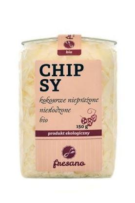Obrazek Fresano   Chipsy kokosowe nieprażone niesłodzone BIO 150 g
