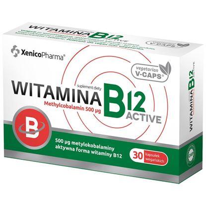 Obrazek Xenico Pharma | Witamina B12 Active 30 kaps.