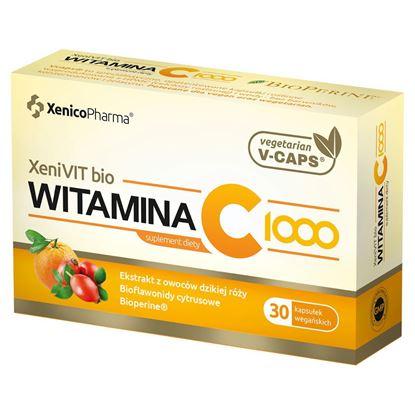 Obrazek Xenico Pharma | XeniVIT bio Witamina C 1000 - 30 kaps.