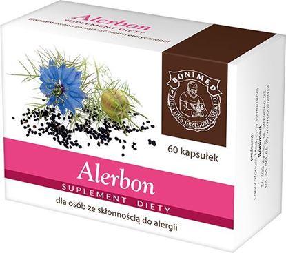 Obrazek Bonimed | ALERBON 60 kaps. - dla osób ze skłonnością do alergii