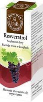 Obrazek Bonimed   RESVERATROL esencja wina w kroplach 20 ml