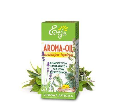 Obrazek Etja | AROMA-OIL Orzeźwiająco łagodząca kompozycja naturalnych olejków eterycznych 10ml
