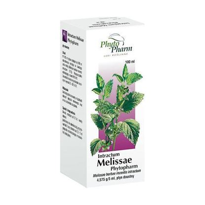 Obrazek Phytopharm   INTRACTUM MELISSAE PHYTOPHARM - wyciąg z ziela melisy 100ml
