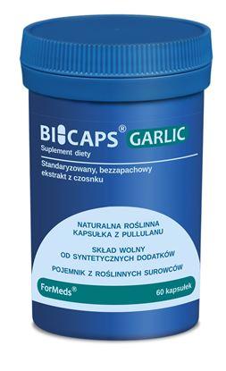 Obrazek ForMeds   BICAPS® GARLIC (bezzapachowy ekstrakt z czosnku) 60 kaps.