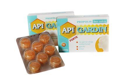 Obrazek Bartpol   API GARDIN FORTE Propolis bez cukru 16 pastylek do ssania