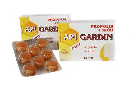 Obrazek Bartpol   API GARDIN FORTE Propolis i miód 16 pastylek do ssania