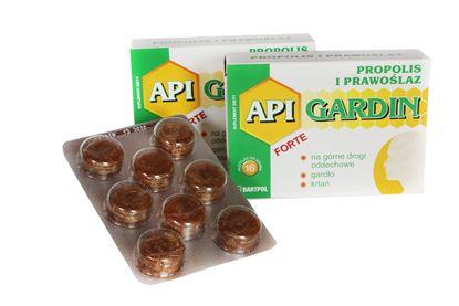 Obrazek Bartpol | API GARDIN FORTE Propolis i prawoślaz 16 pastylek do ssania