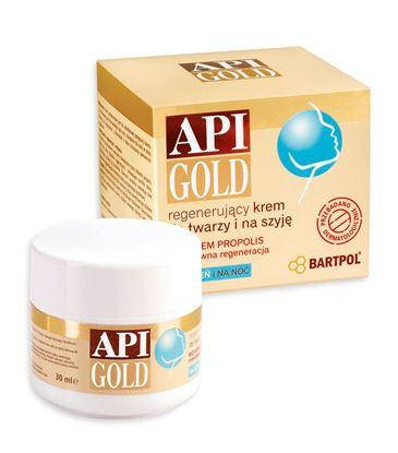 Obrazek Bartpol | API GOLD Regenerujący krem z propolisem 50ml