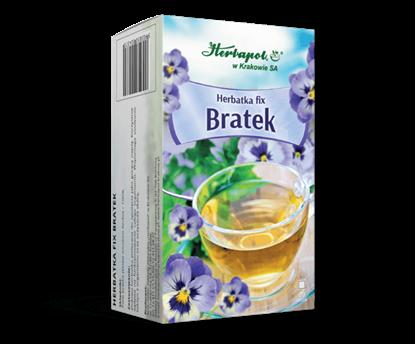 Obrazek Herbapol w Krakowie | HERBATKA BRATEK fix 20 sasz.