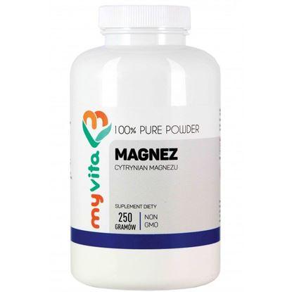 Obrazek MyVita | MAGNEZ (Cytrynian magnezu) 250g