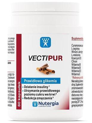 Obrazek Nutergia Laboratoire   VECTIPUR Prawidłowa glikemia 60kaps.