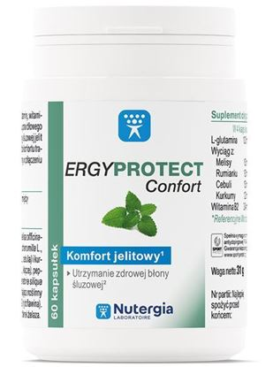 Obrazek Nutergia Laboratoire   ERGYPROTECT Confort - Komfort jelitowy 60kaps.