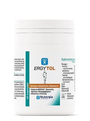 Obrazek Nutergia Laboratoire   ERGYTOL - Synergia składników aktywnych 30kaps.